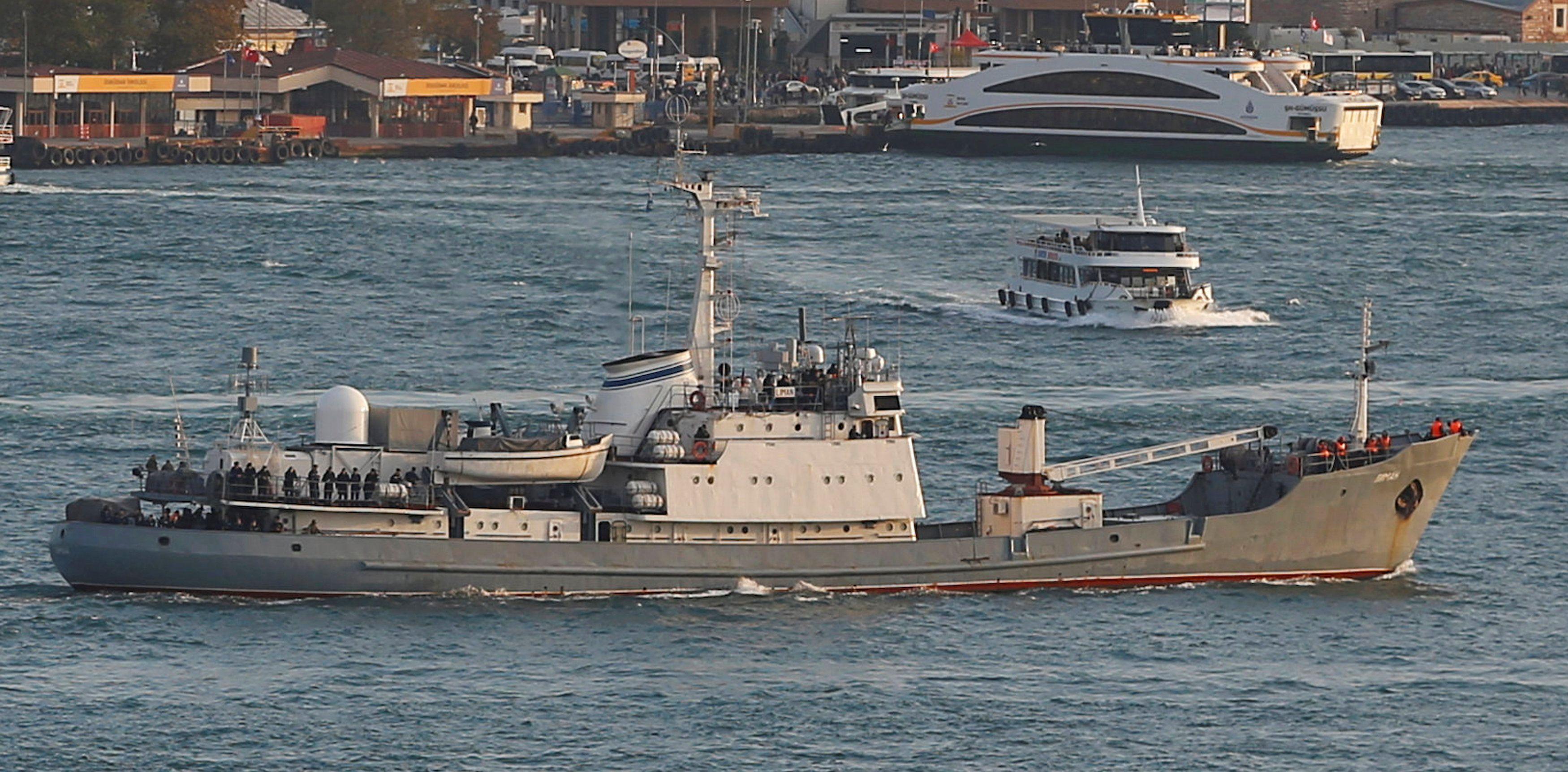 Росія,Лиман,Чорноморський флот