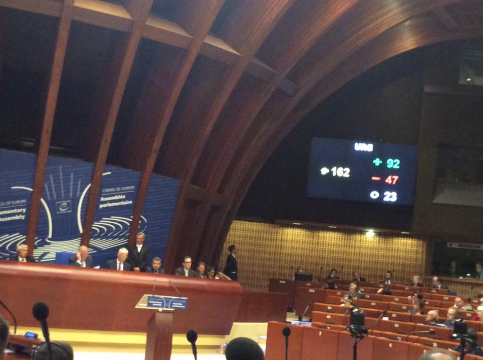Гордо хлопнули дверью: украинская делегация устроила в ПАСЕ демарш