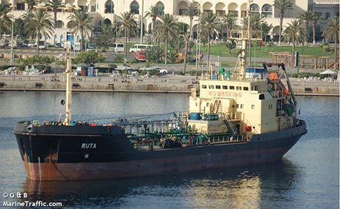 Украинский танкер