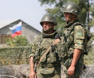 Российские военные, иллюстрация
