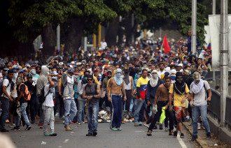 Венесуэла, протест