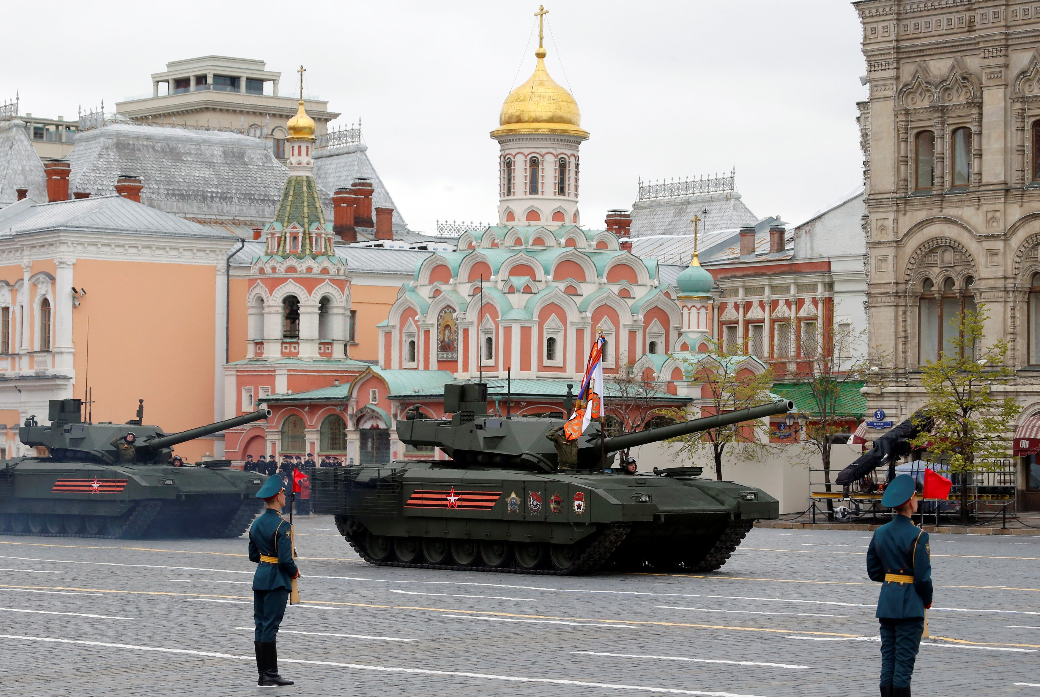 Путін, Росія, День перемоги