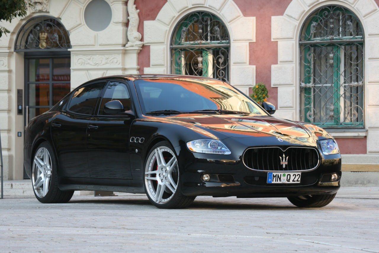 Maserati Quattroporte 2006 года ушел за полцены — 355,8 тыс. грн