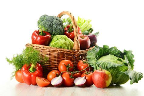 В жару лучше всего питаться овощами