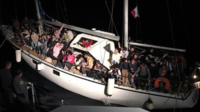 Украинские контрабандисты перевозили на яхтах мигрантов