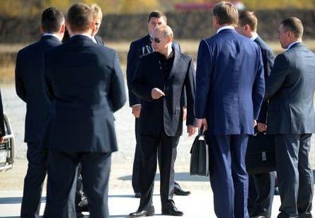 Путін, охорона, охоронці