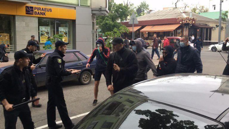 В Харькове в результате драки на акции против гомофобии пострадали полицейские, опубликованы фото