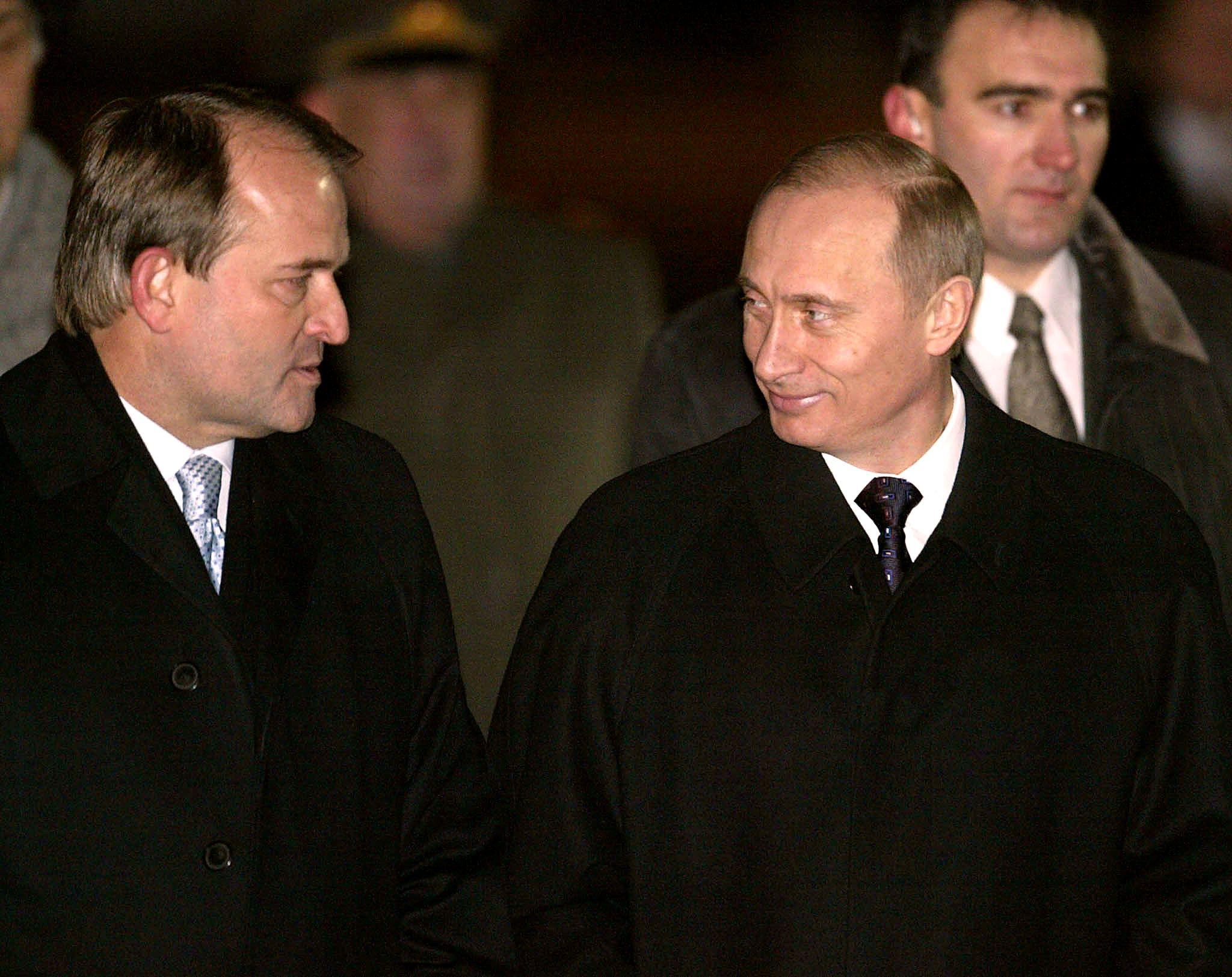 Медведчук, Путин