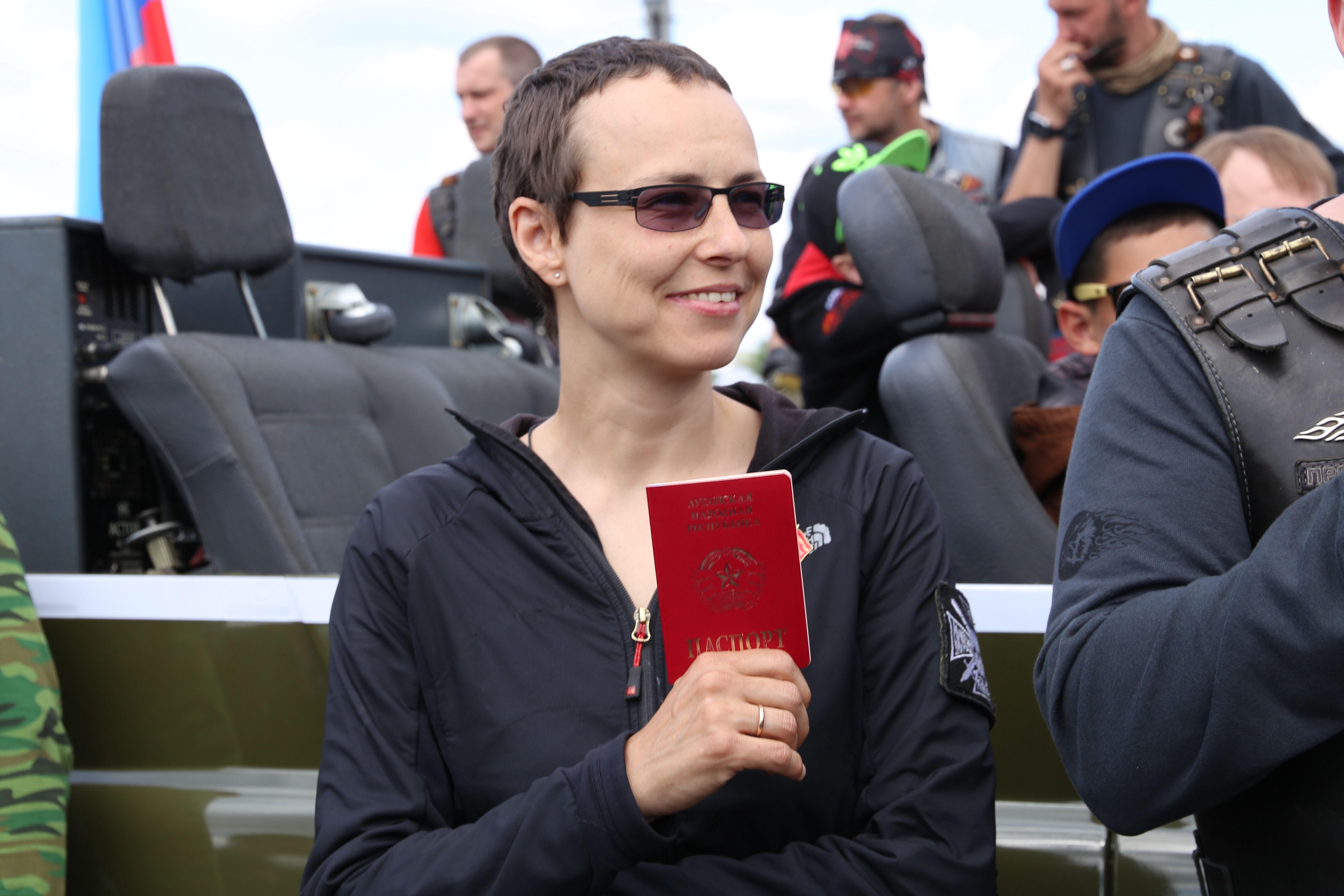 Юлія Чичеріна, паспорт, ЛНР