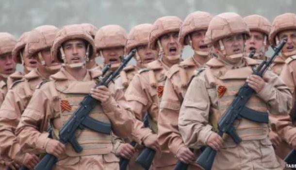 Российские военные в Сирии, иллюстрация