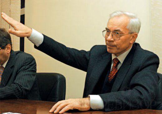 Азарова оставили в санкционном списке ЕС.