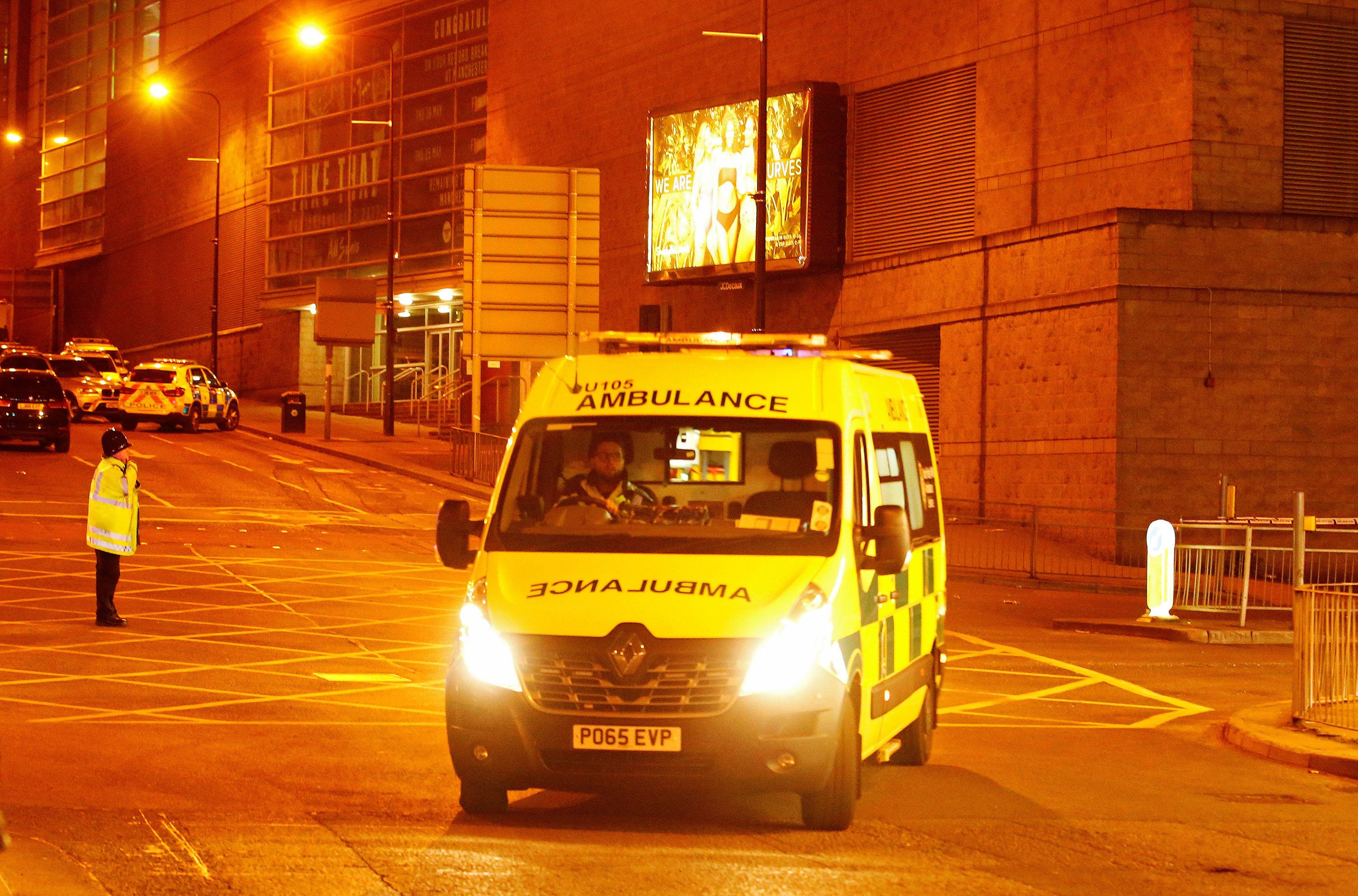 Скорая помощь в Манчестере, иллюстрация