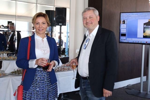 Игорь Янковский с женой Светланой Сухиной