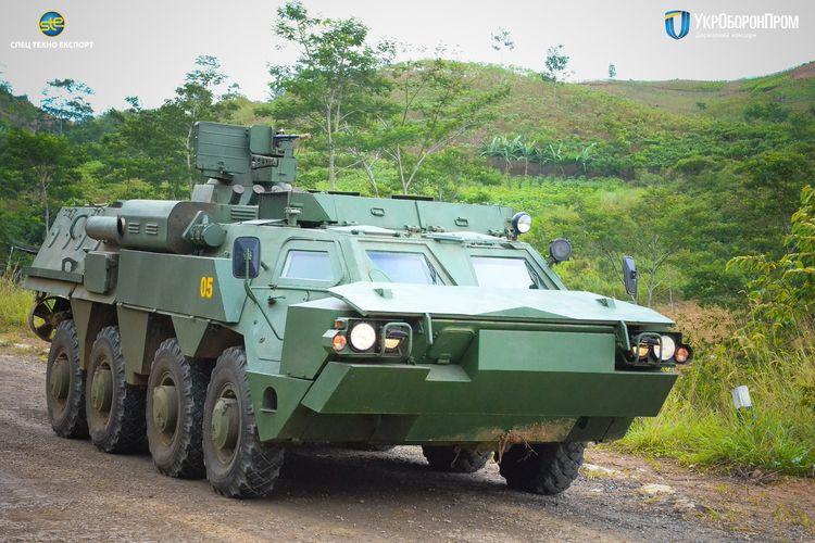 Украинский БТР-4М в Индонезии.