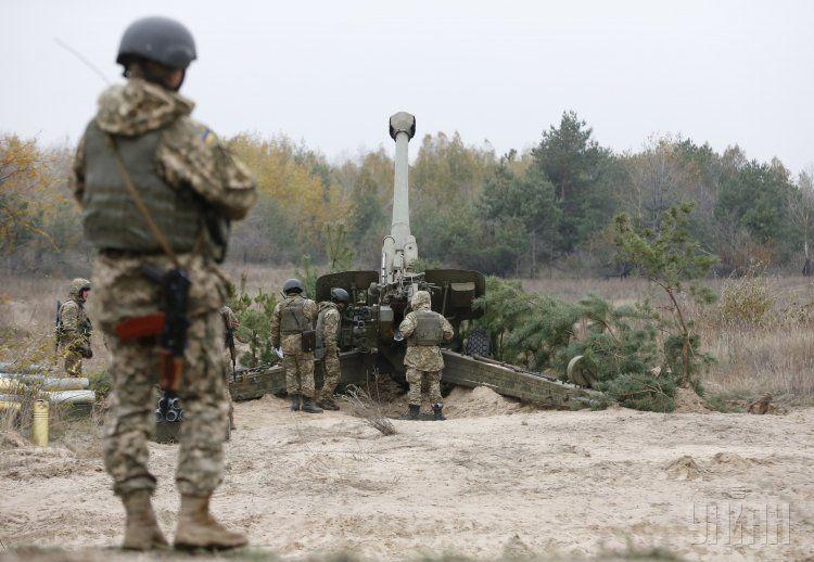 Солдат-артиллерист, иллюстрация