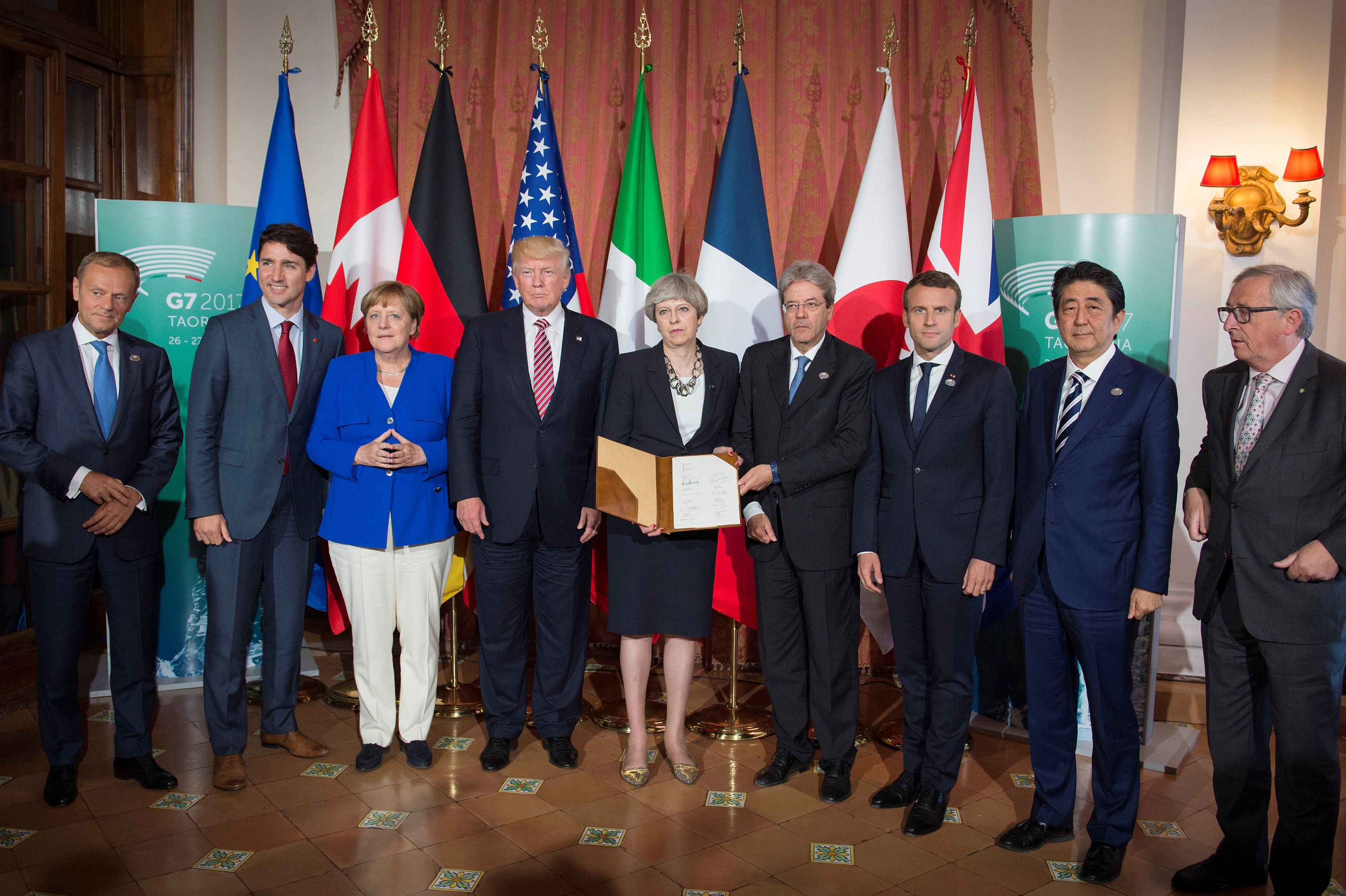 Саммит, Сицилия, G7, Большая семерка