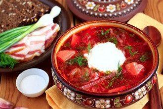 Самые распространенные ассоциации с украинской кухней