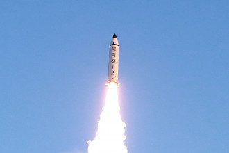 Ракета КНДР, иллюстрация