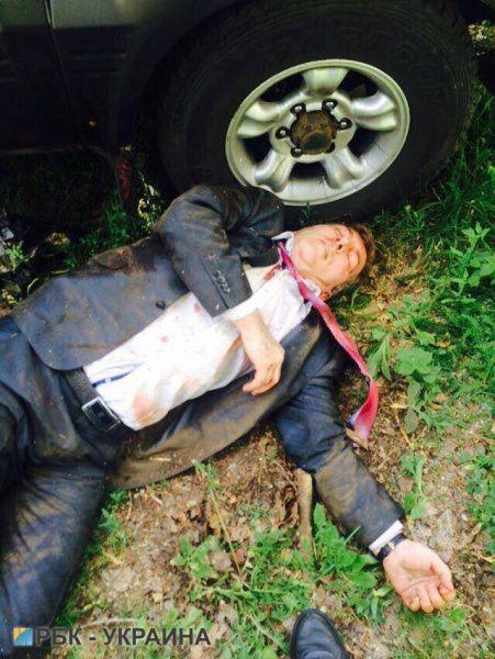 Нападавший на Осмаева получил ранения
