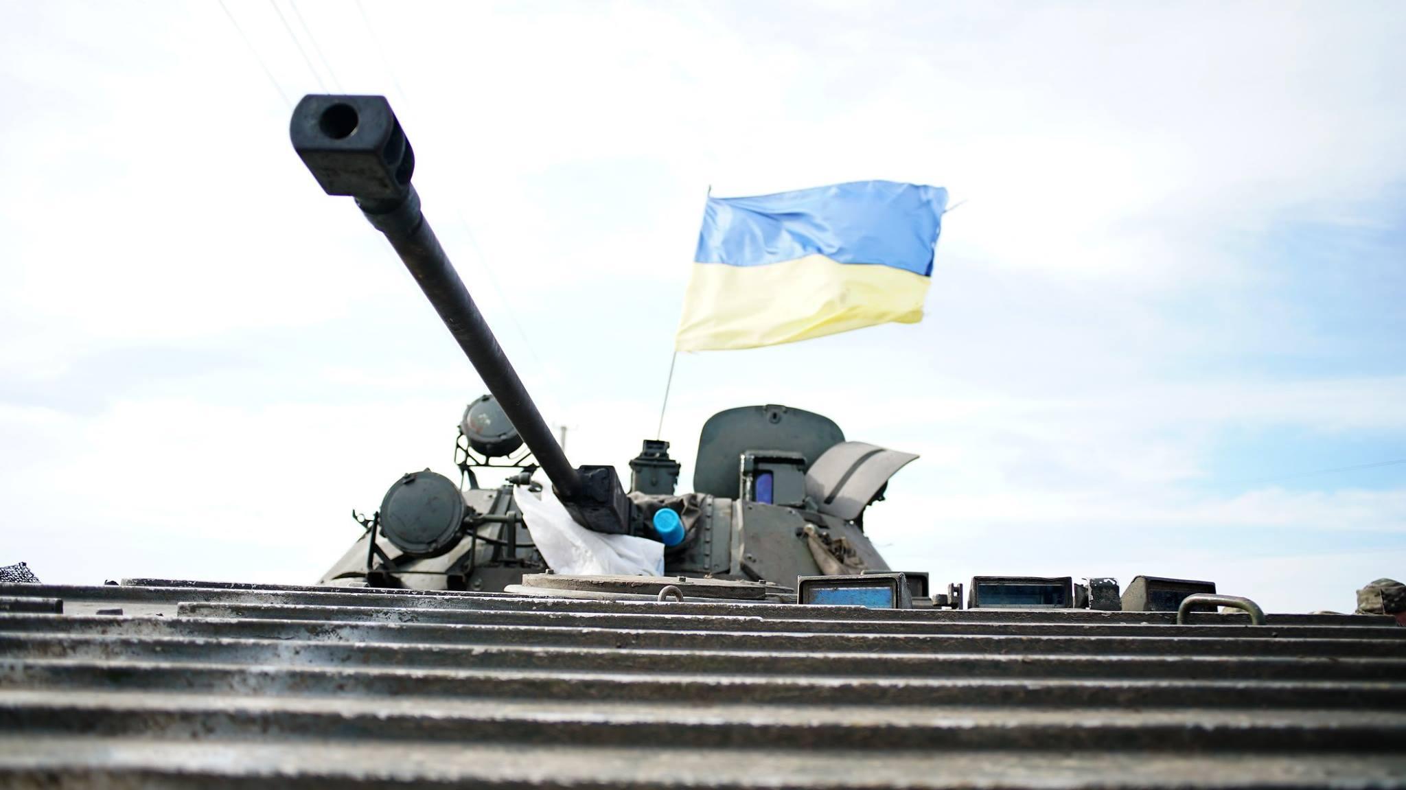 АТО, Донбасс, ВСУ, военные, БМП