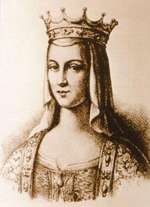 Анна Ярославна, работа современного художника