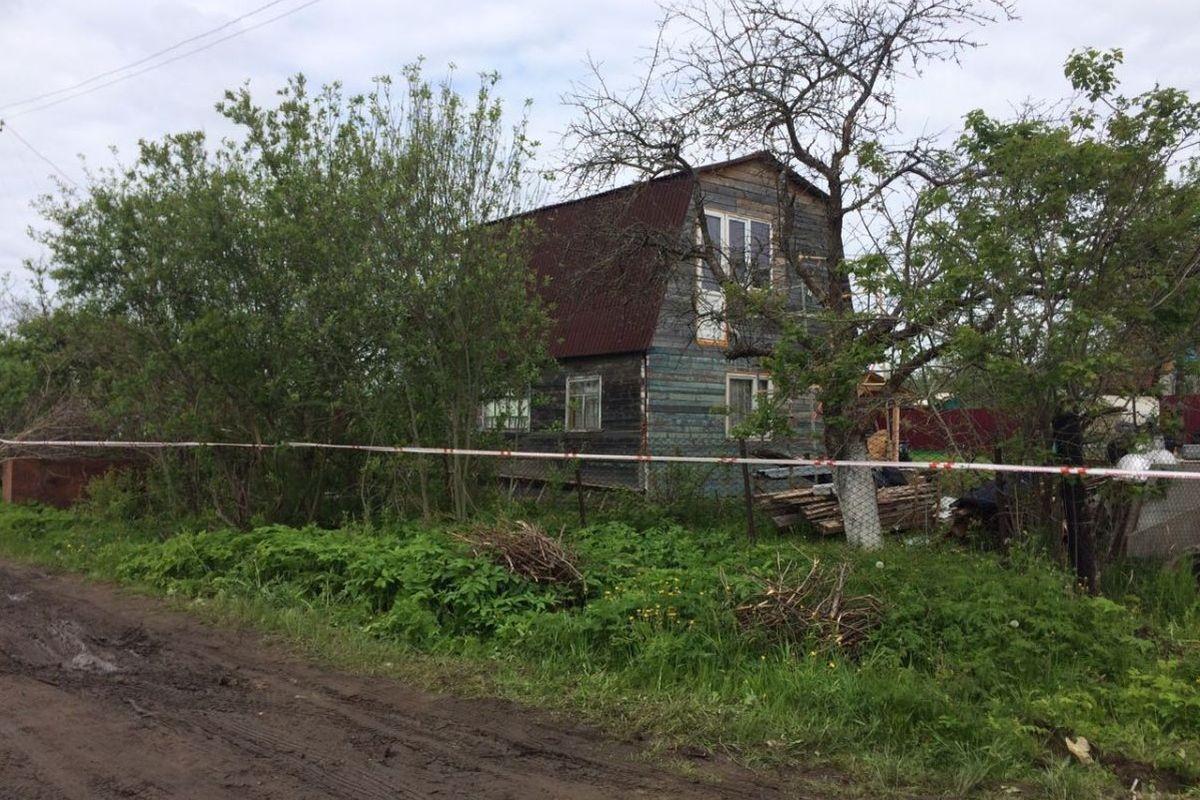 Дом, где произошло массовое убийство