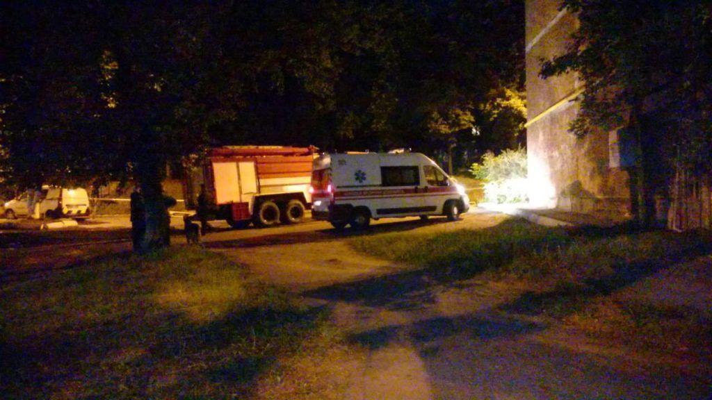 Взрыв в квартире под Киевом, иллюстрация.