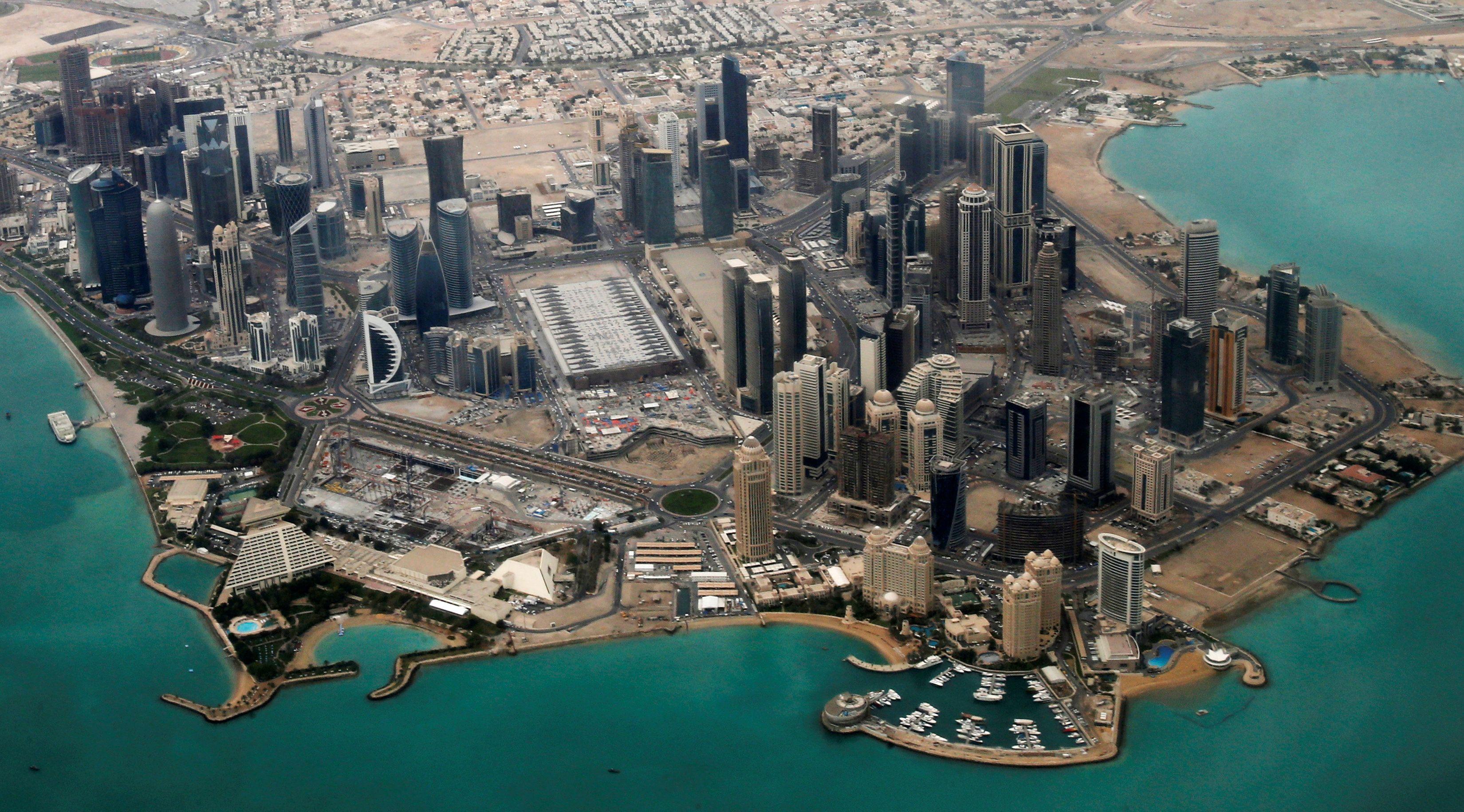 Дипломатический район Дохи.