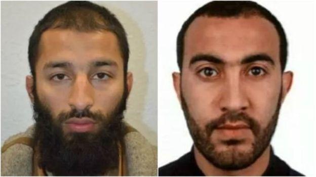 Хурам Батт (слева) в прошлом попадал в поле зрения полиции и спецслужб.