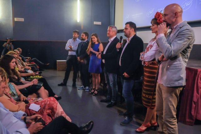 Игорь Янковский и Филипп Ильенко открывают Дни украинского кино в Риме