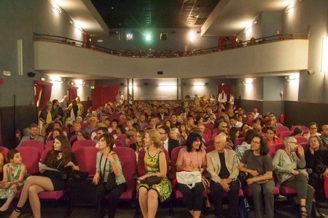 Зал кинотеатра Farnese