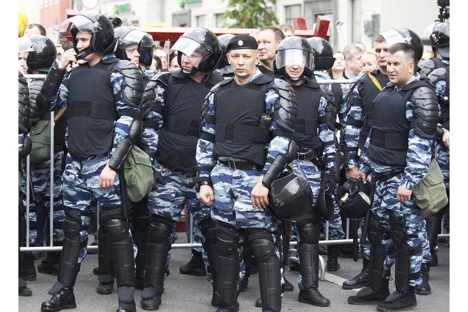 Митинг в Москве на