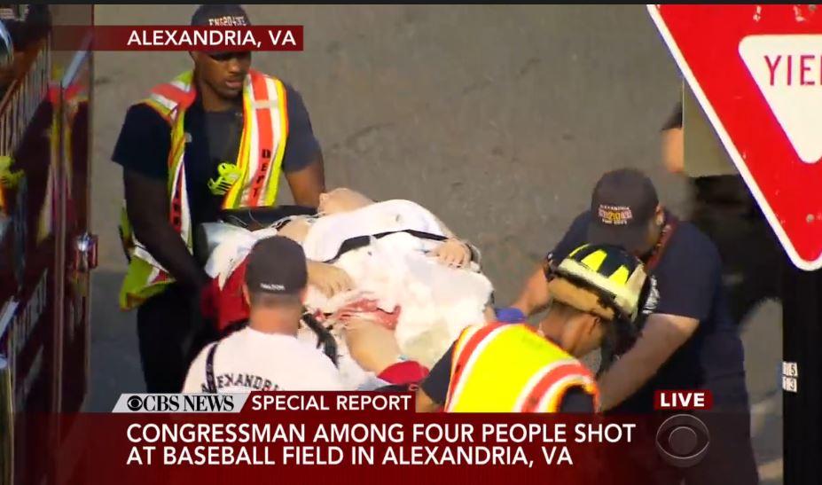 В США неизвестный открыл стрельбу по конгрессменам