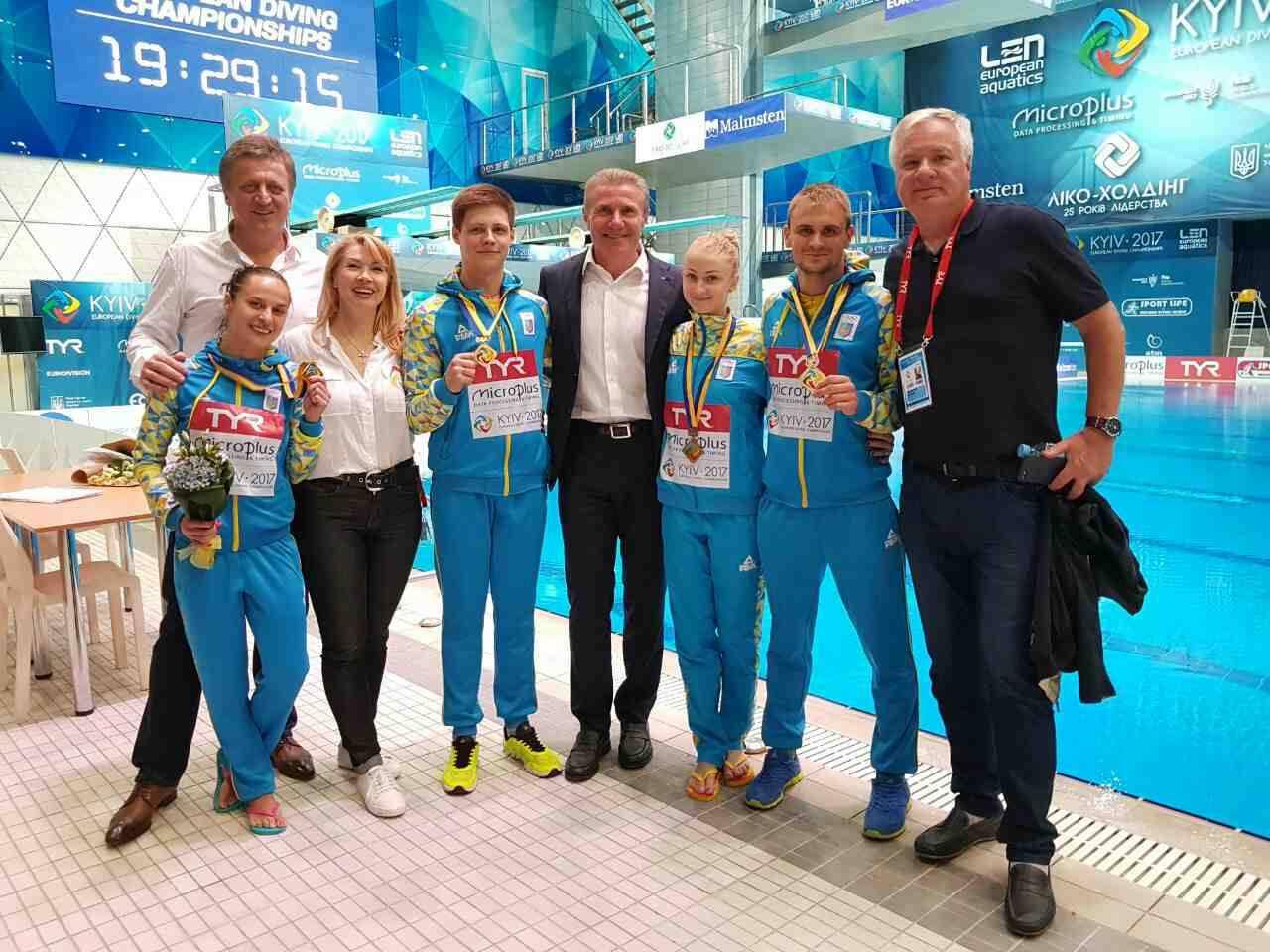 Украинские спортсмены завоевали золото и бронзу