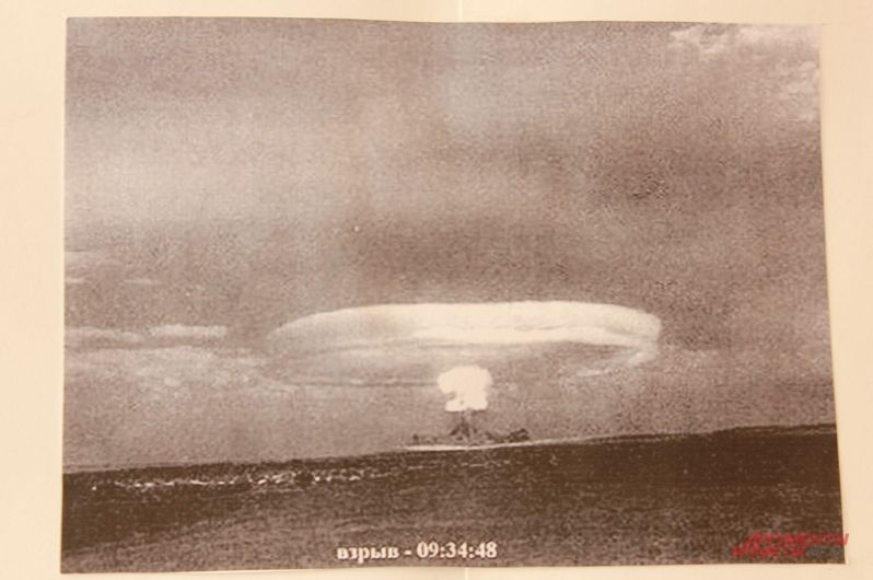 Ядерный взрыв на Тоцком полигоне
