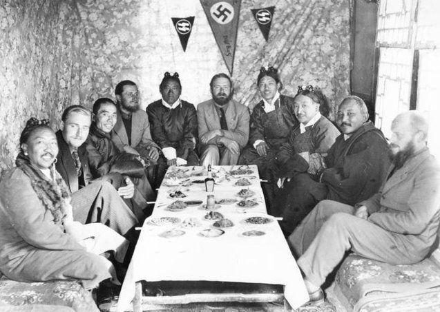 Нацистські вчені на Тибеті