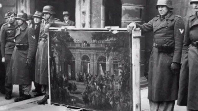 Картини — частина вкрадених цінностей, представлених публіці самими нацистами