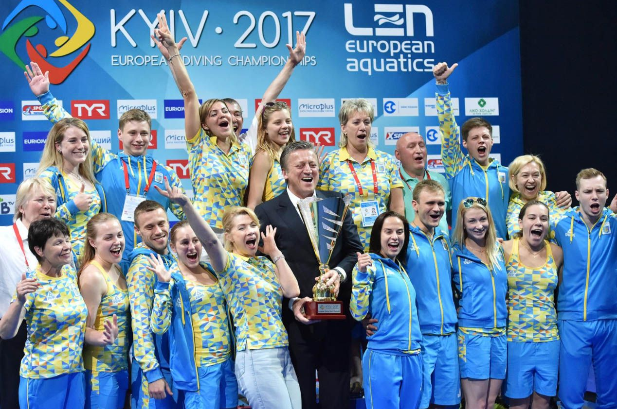 Сборная Украины выиграла общекомандный зачет