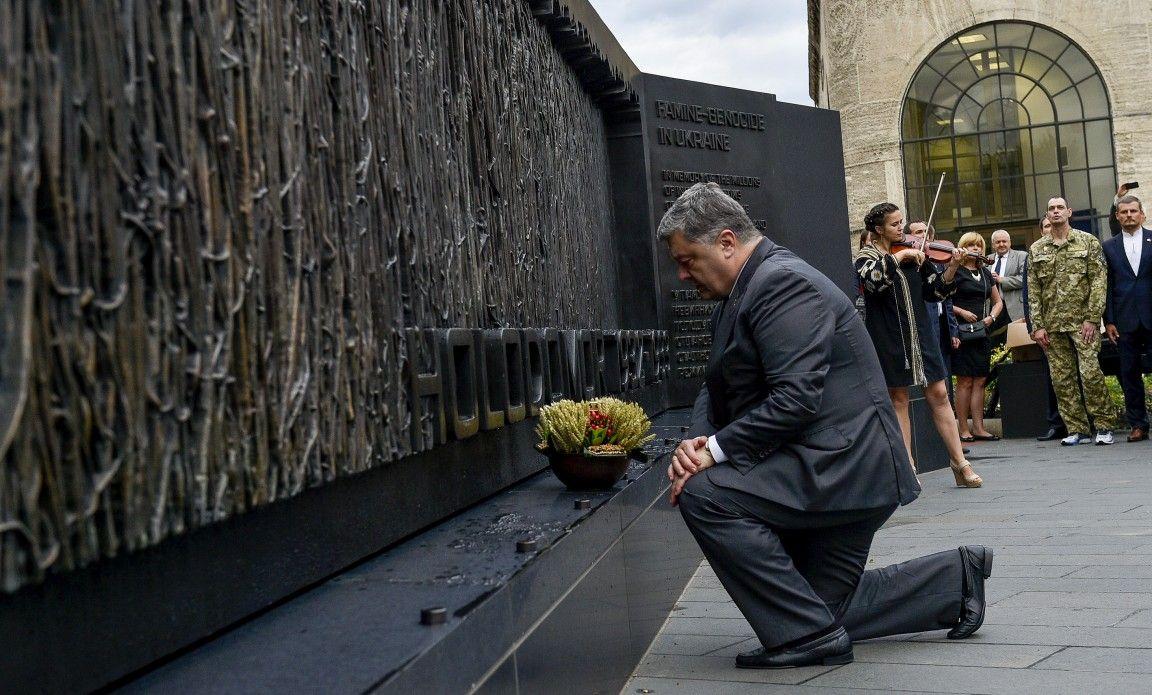 Мощный визит Порошенко в США. Переговоры с Трампом и много встреч