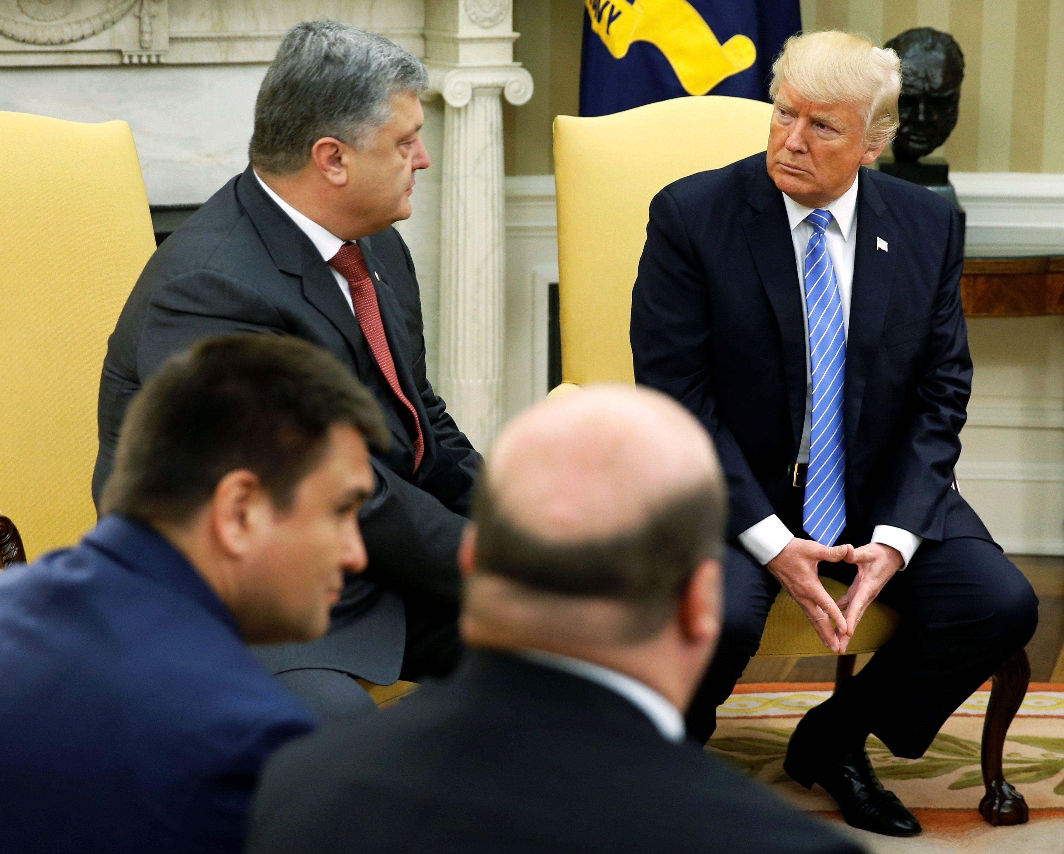Порошенко о встрече с Трампом: давление на Россию и расширение военного сотрудничества Украины и США