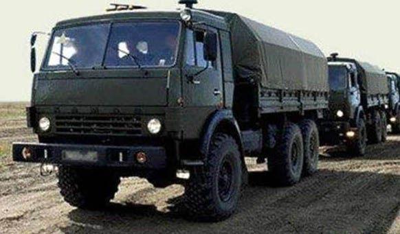 Грузовик, КамАЗ, армия