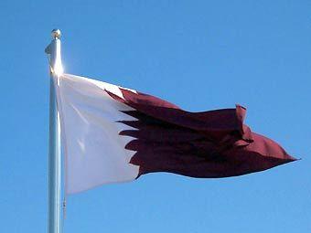 Флаг Катара, иллюстрация