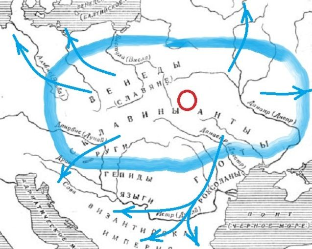 Слов'яни за Йорданом (готський історик VI ст. н.е.)