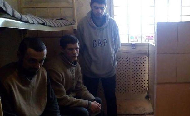Украинские пленные в Западной колонии №97 в Макеевке