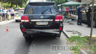Известны подробности взрыва джипа в центре Киева