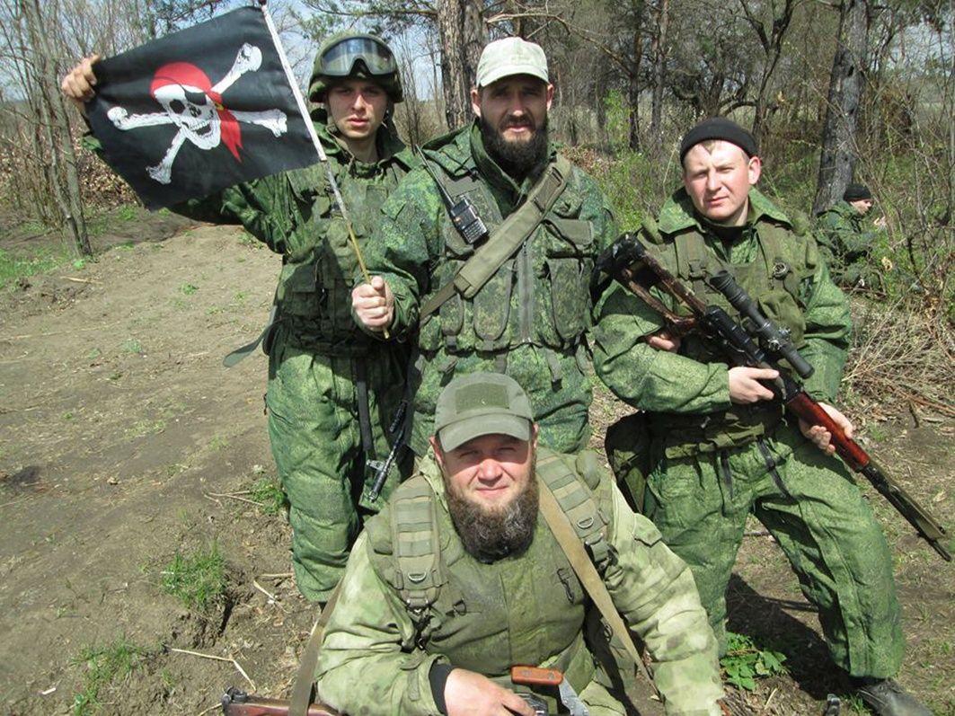 Разгромленная у Бахмутки ДРГ боевиков