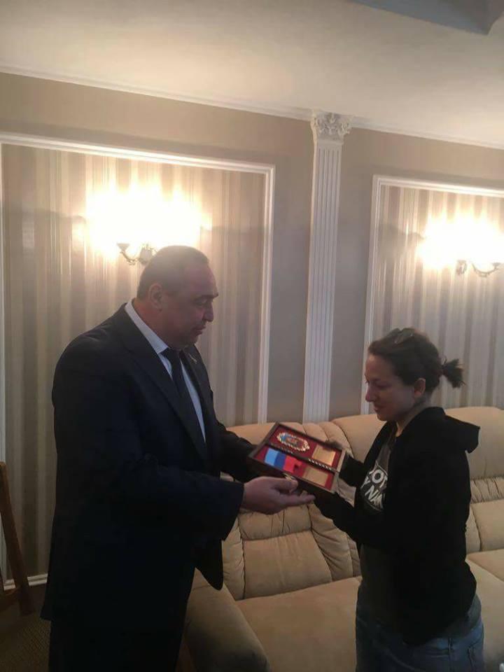 Игорь Плотницкий и Элеонора Форенца