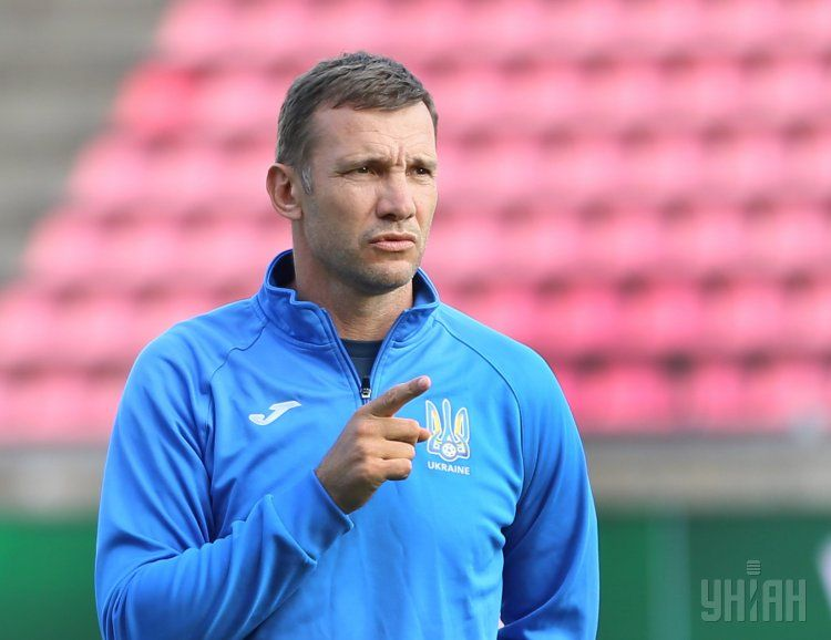Андрей Шевченко сообщил, что сборной Украины не хватает результата и стабильности