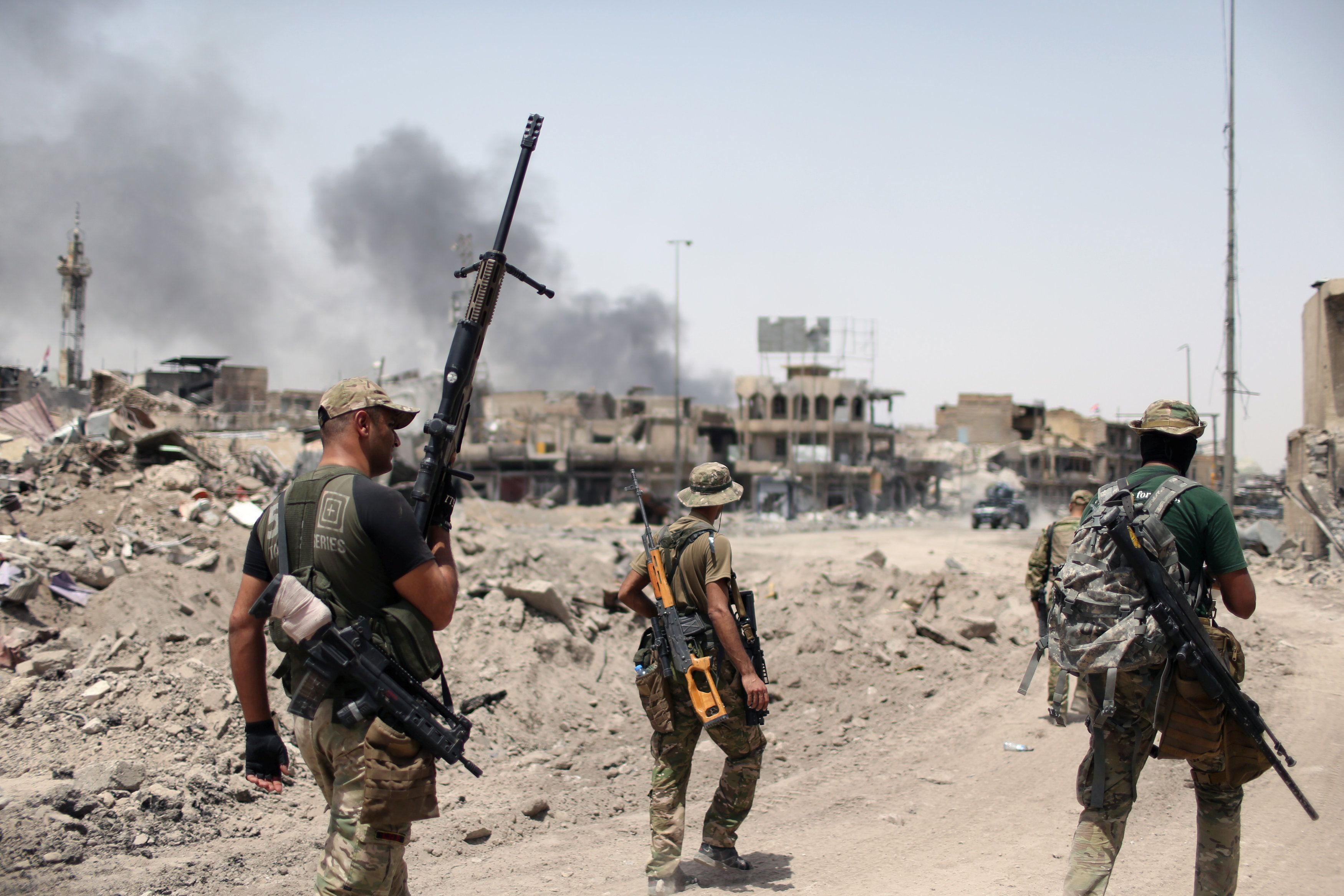 В Ираке больше не будут воевать против ИГИЛ, сказал премьер
