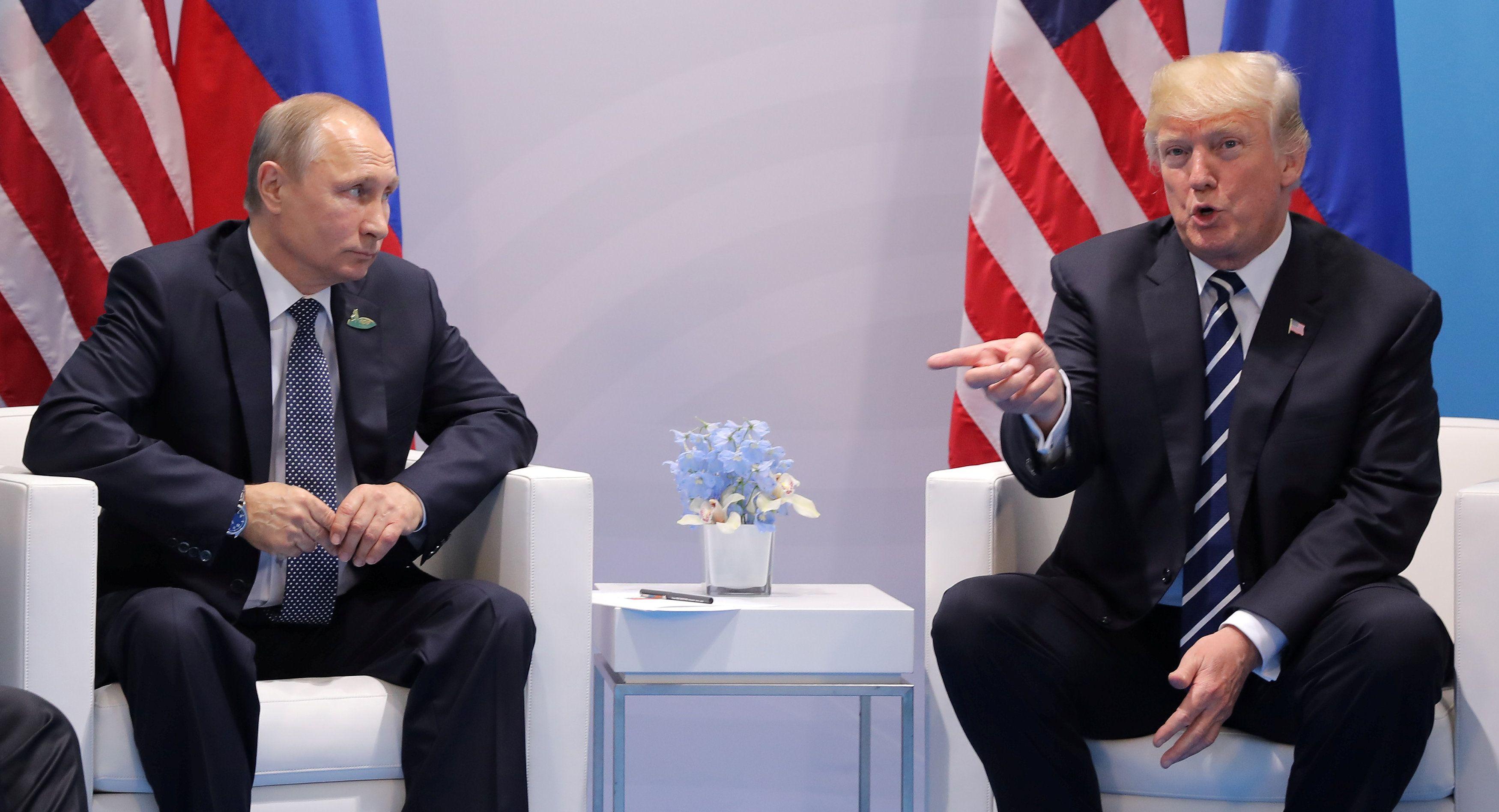 ТРамп и Путин поговорили об Украине